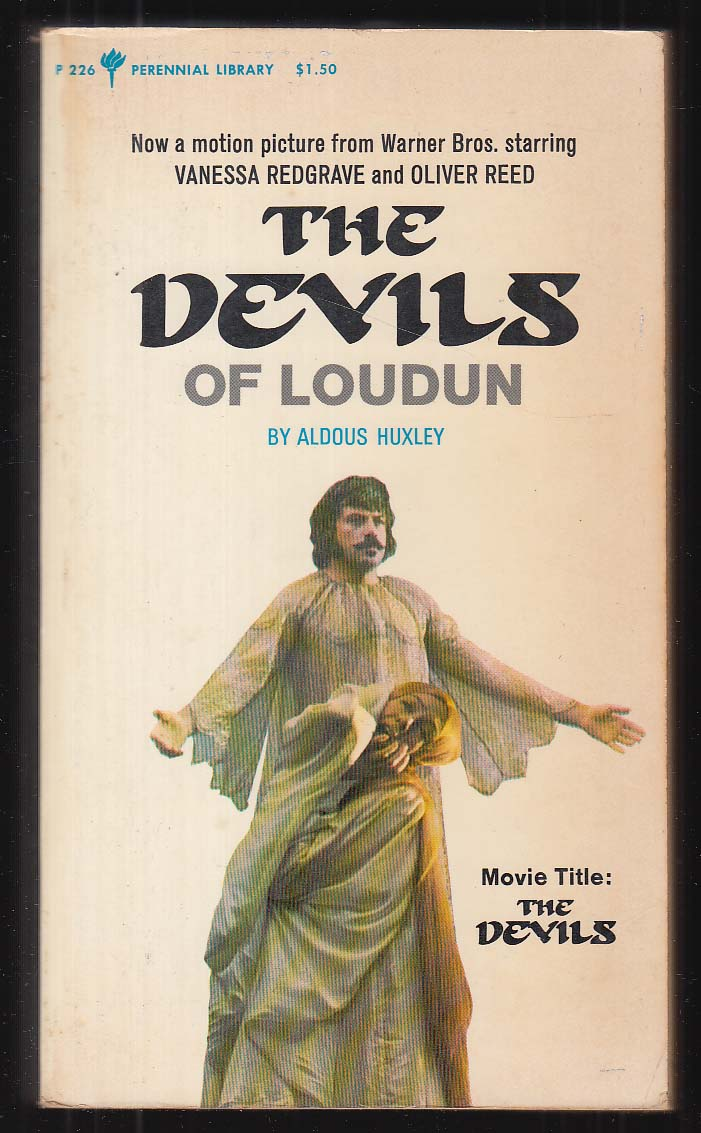 Aldous Huxley: The Devils of Loudon 1st movie tie-in pb 1971 Oliver Reed