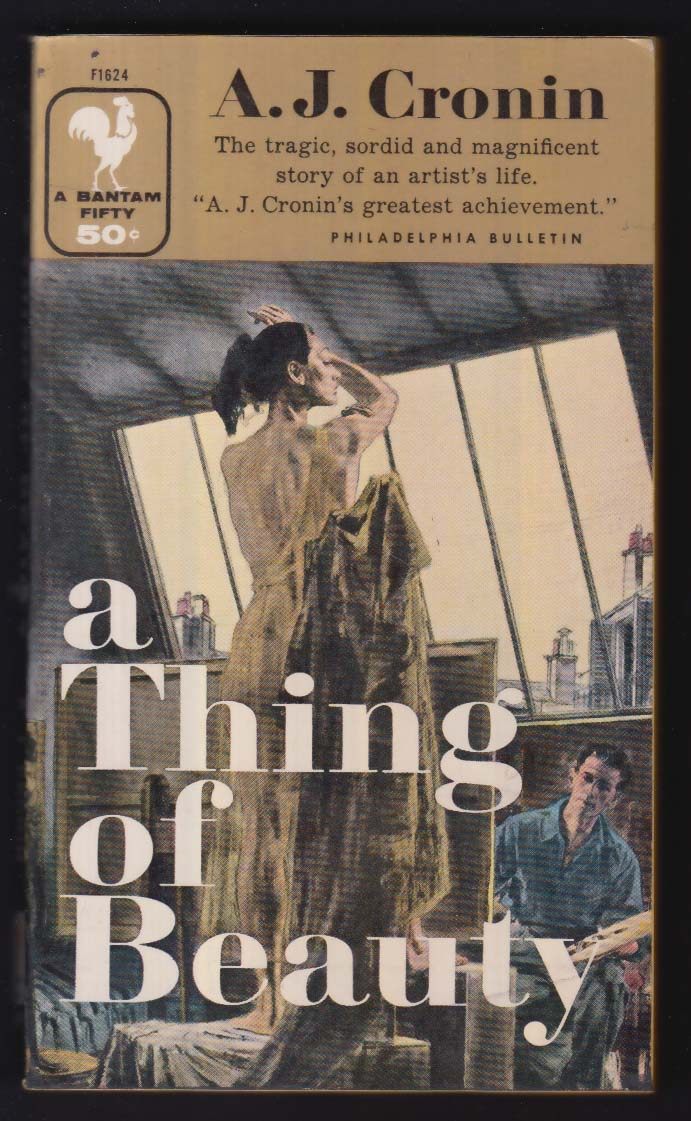 A J Cronin: A Thing of Beauty 1967 pb GGA