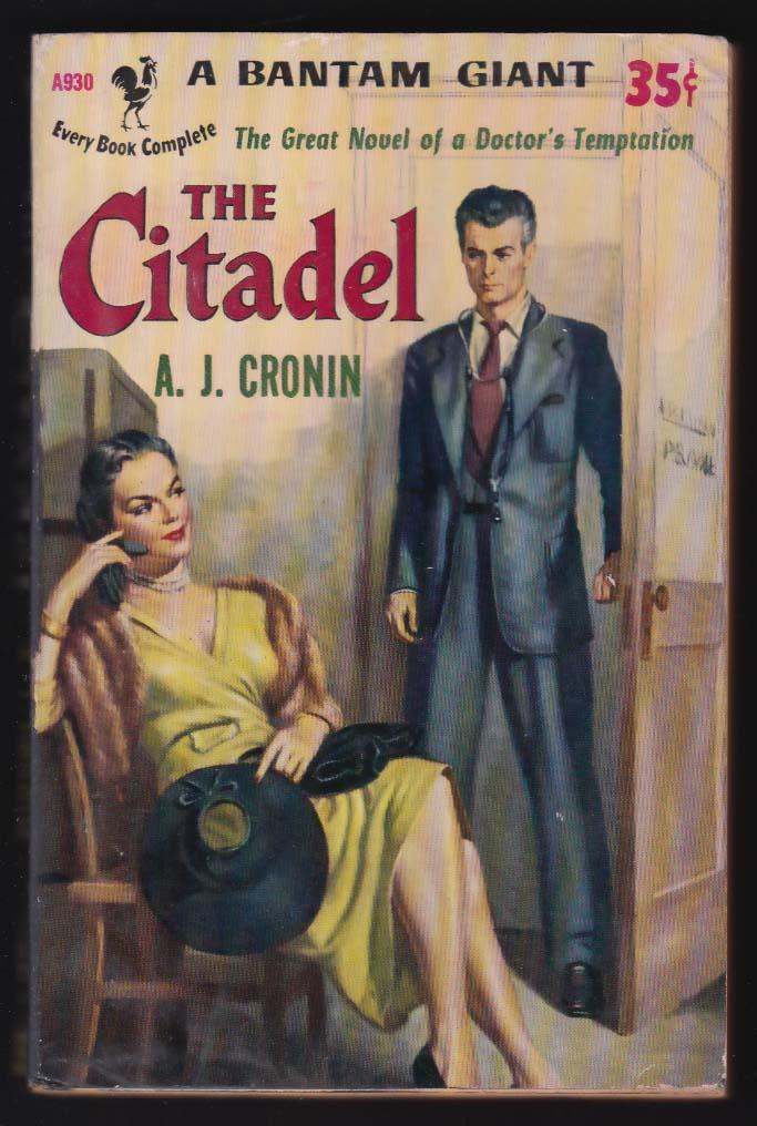 A J Cronin: The Citadel 1951 pb GGA