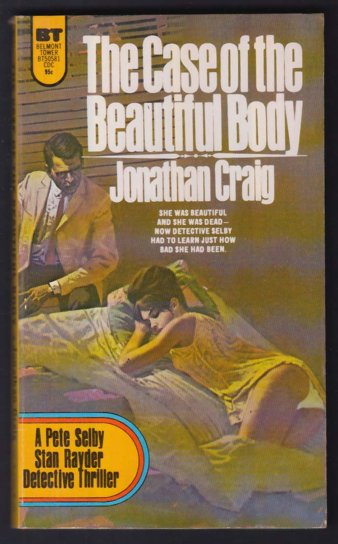 Jonathan Craig: The Case of the Beautiful Body 1st pb ed 1973 GGA