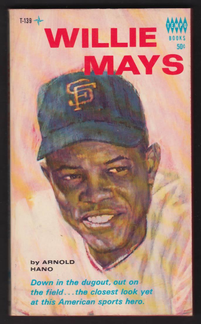 Arnold Hano: Willie Mays 1st pb ed 1966