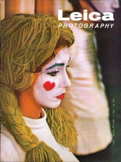 Leica Photography magazine Summer 1956 Dr Ernst Leitz Sr Elliott Erwitt +