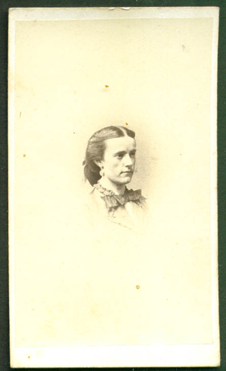 Mary for Lillie CDV Gross & Becher Brooklyn NY
