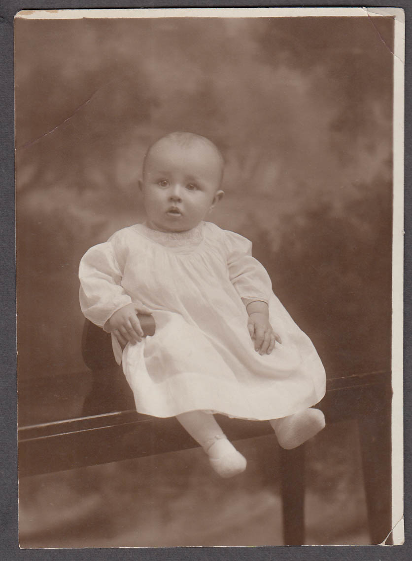 Image for William Nichols Billy Halbrook as a baby photo ca 1920