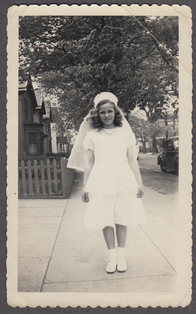 Image for Rose-Ann Lacey Confirmation photo 5/20 1950