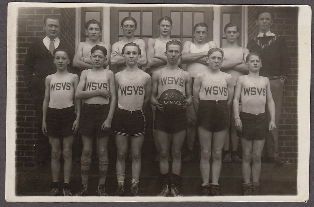 Image for WSVS Basketball Team photo Champions 1927-1928 possibly West Virginia