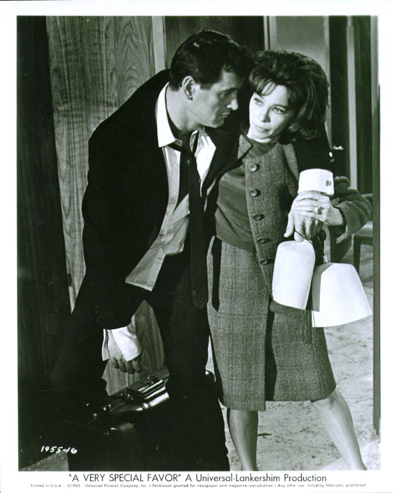 Rock Hudson Leslie Caron A Very Special Favor 8x10 1965
