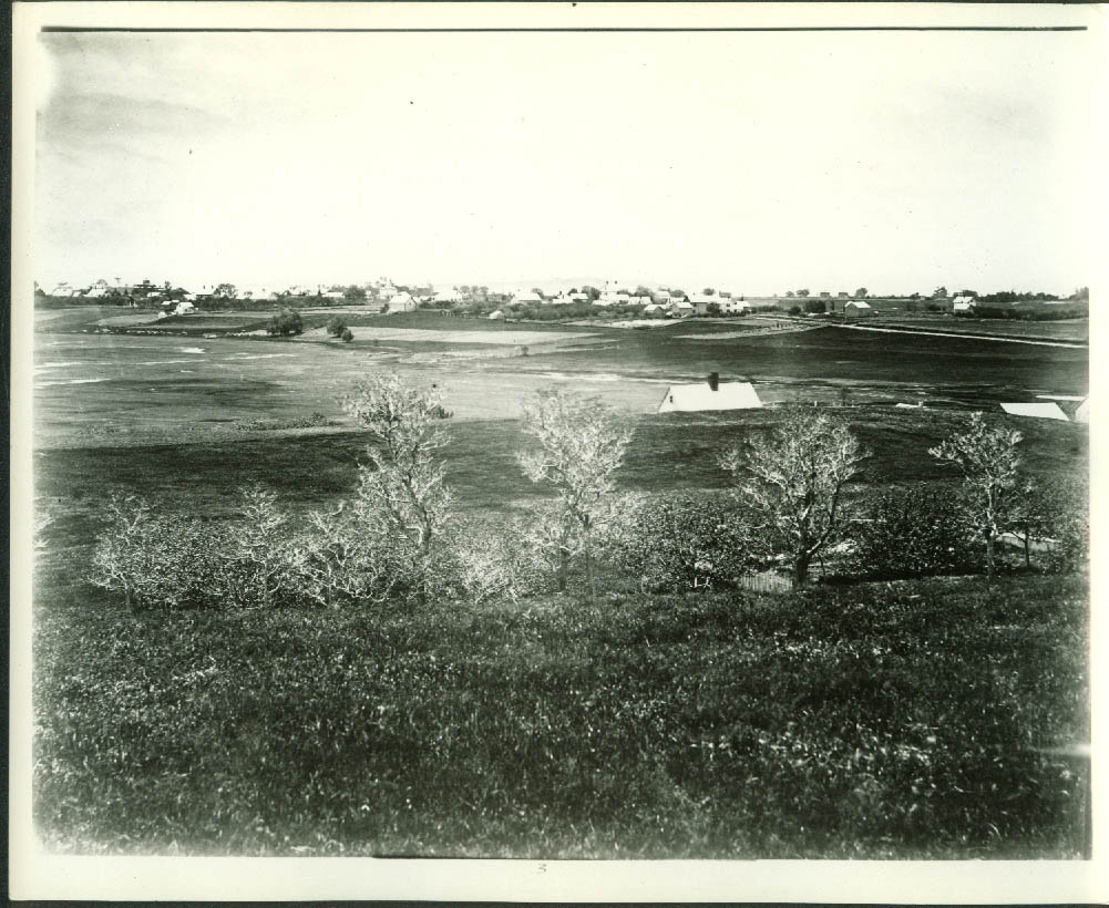 Panorama of Old Wintrhop Massachusetts 8x10 photo from glass plate ca 1900 #4