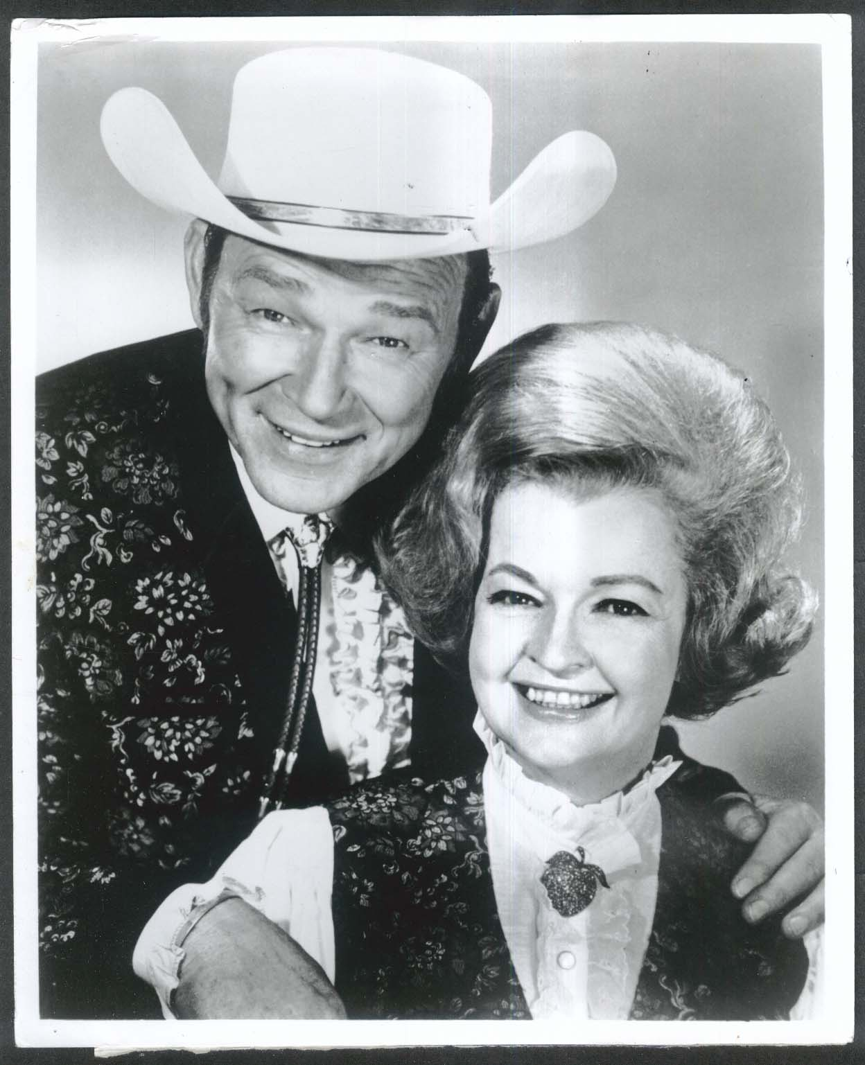 Roy Rogers Dale Evans Happy Birthday America 8x10 photograph 1976