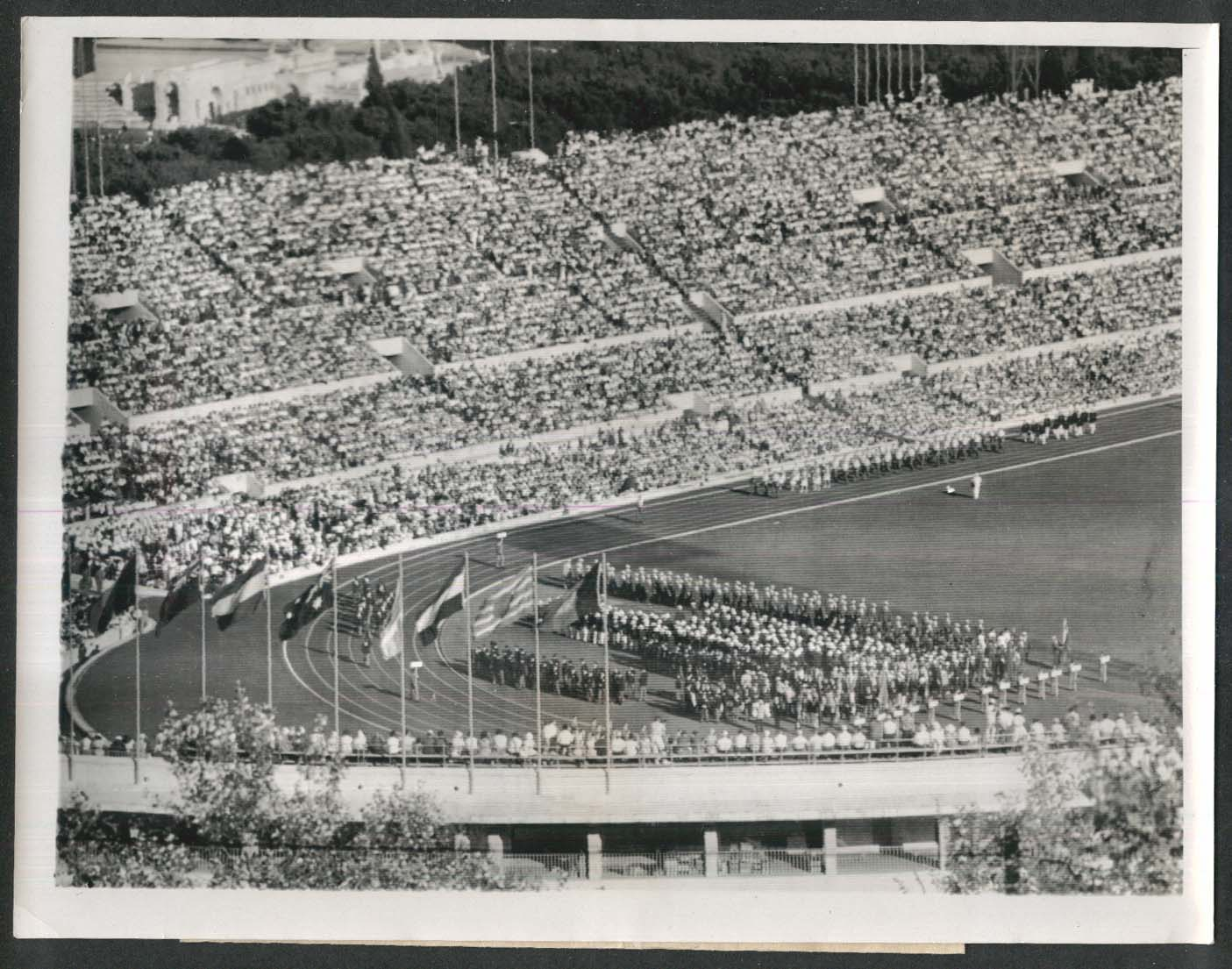 1960 Olympics Opening Parade 7x9 news photo