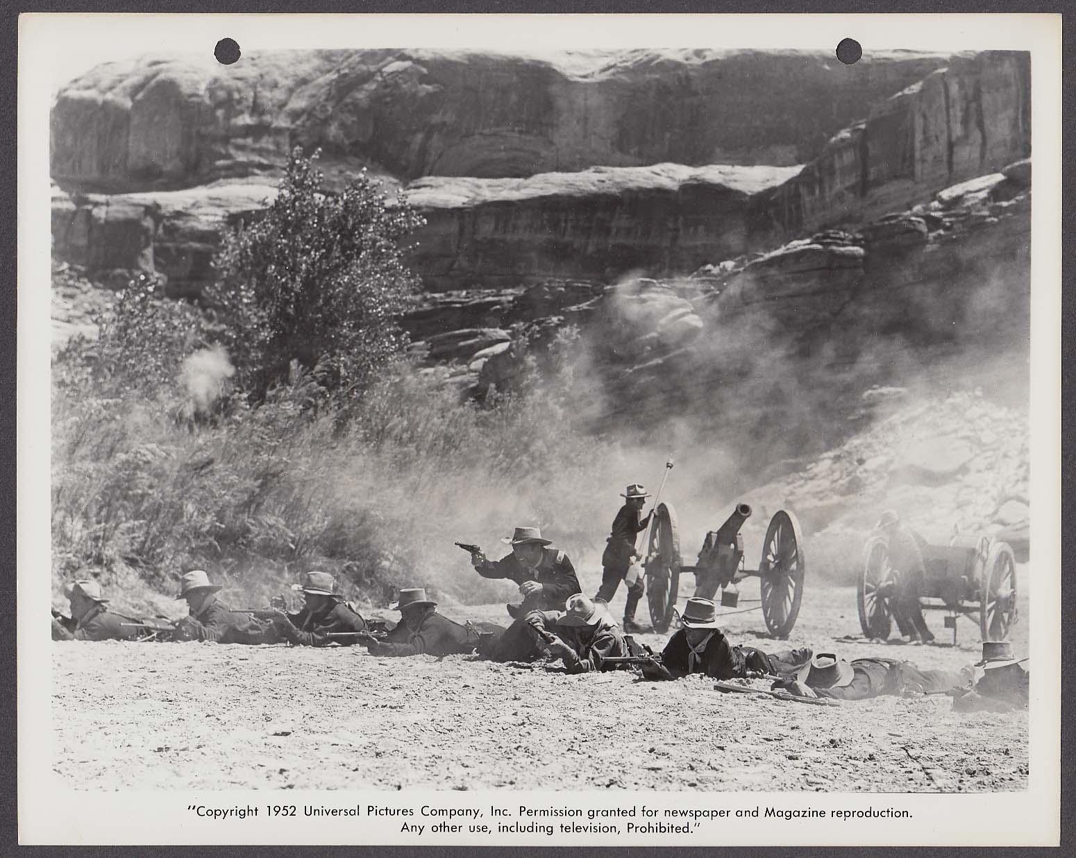 Artillery cannon Battle at Apache Pass 8x10 photo 1952 #67