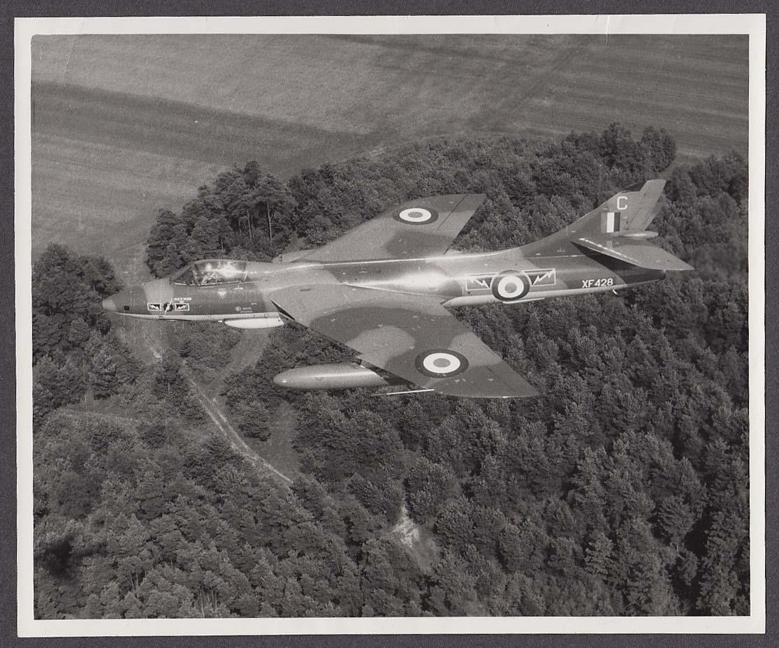 Royal Air Force Hawker Hunter FGA 74 XF428 photo 1970