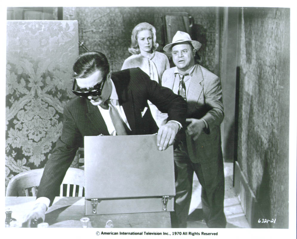 Ray Milland Diana Van der Vlis Don Rickles in X 8x10