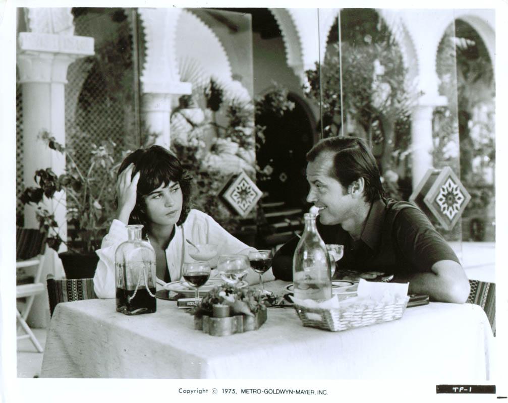 Jack Nicholson Maria Schneider The Passenger 8x10 1975