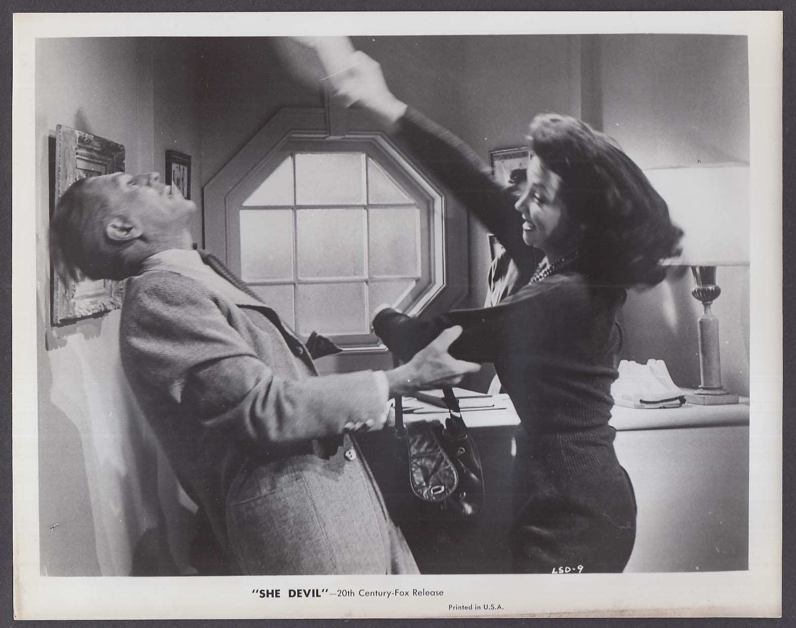Mari Blanchard attacks in She Devil 8x10 photo 1957