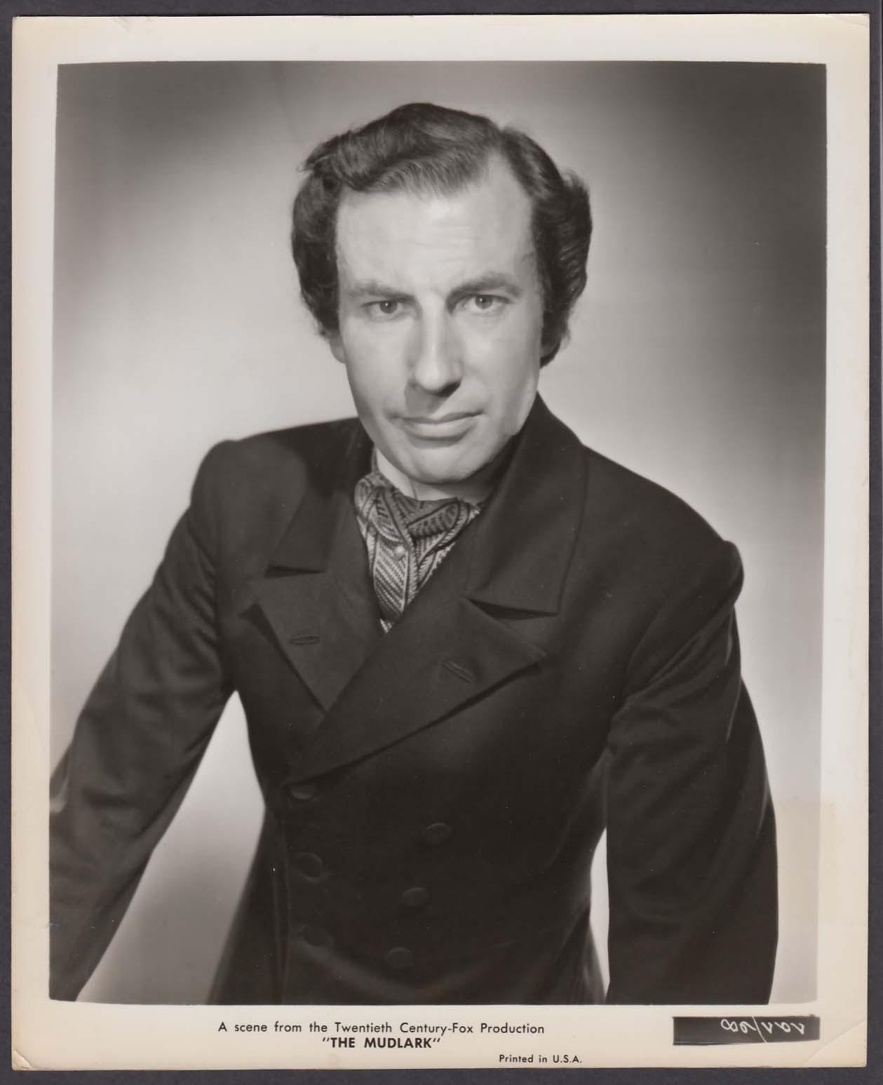 Ernest Clark as Hammond in The Mudlark 8x10 photo 1950
