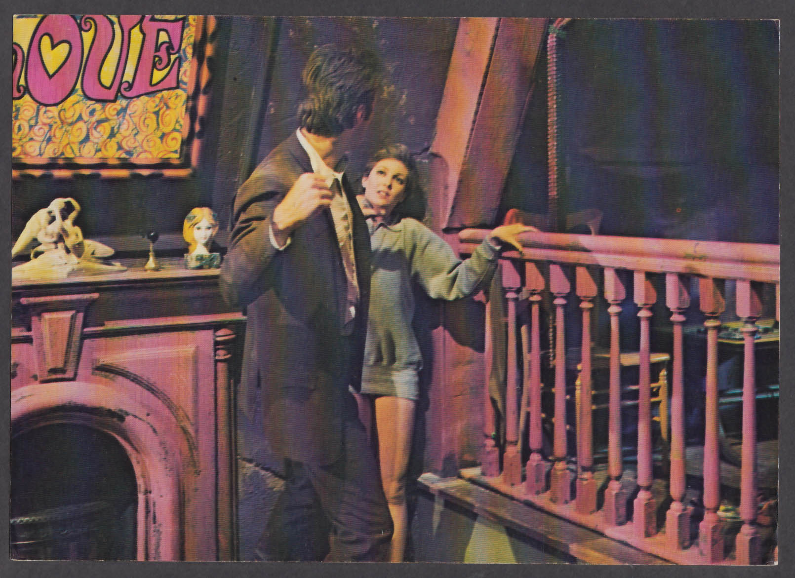 Image for Clint Eastwood roughs up Tisha Sterling in Coogan's Bluff 8x10 lobby card 1968