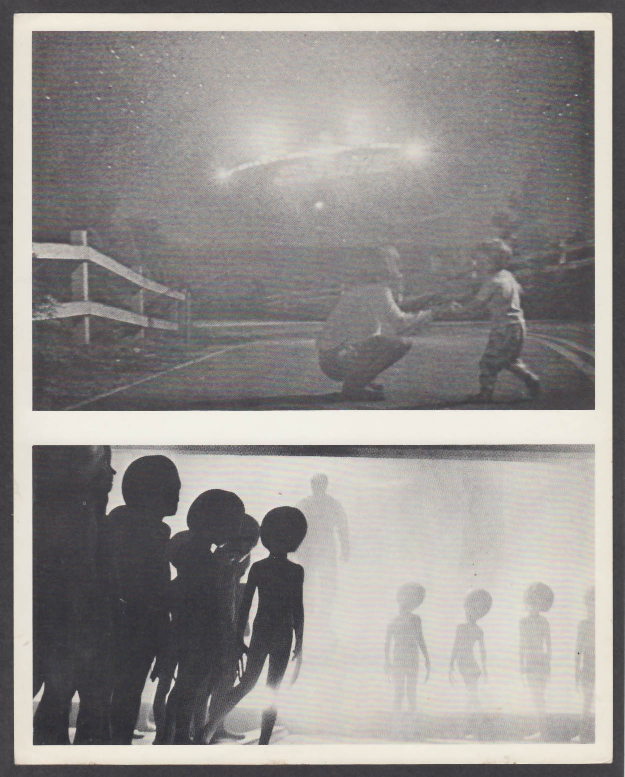Image for Close Encounters of the Third Kind UFO & Aliens scenes 8x10 photo 1977
