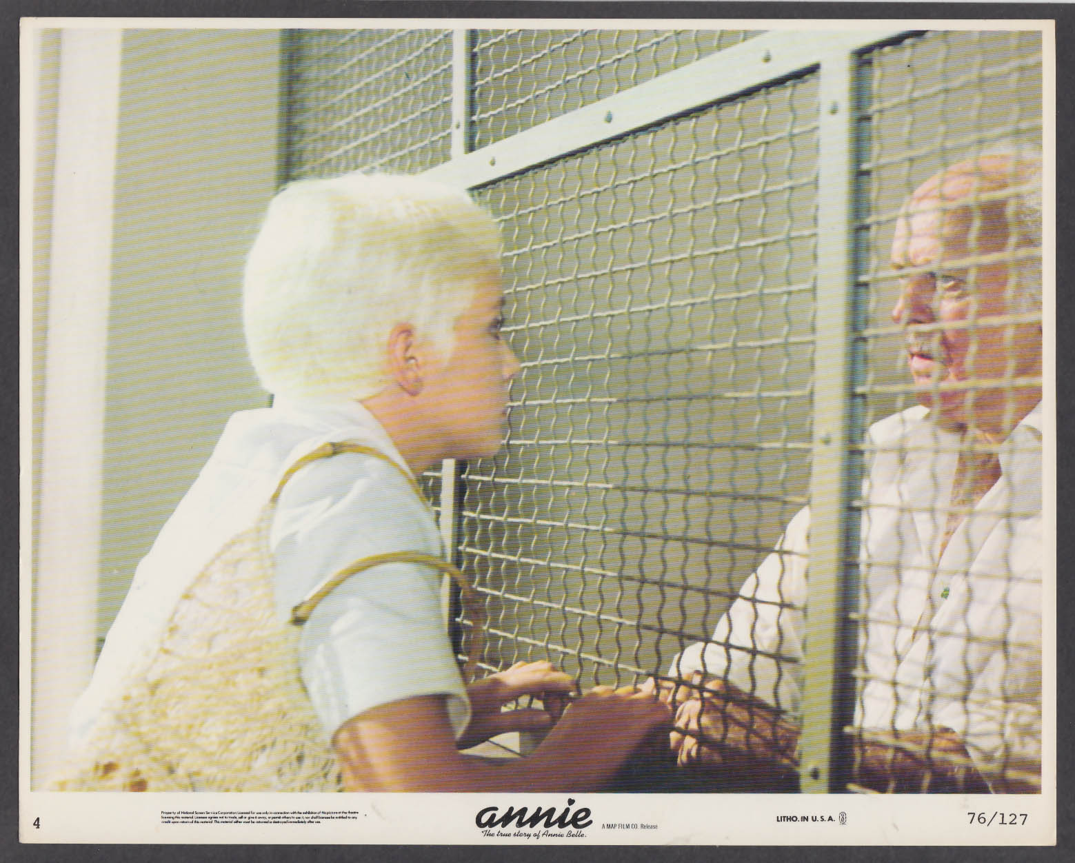 Image for Annie The True Story of Annie Belle 8x10 lobby card 1976