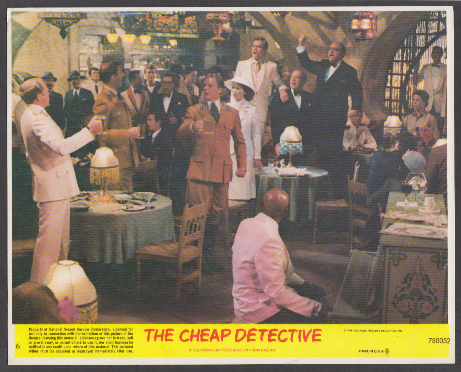 Image for Scatman Crothers Louise Fletcher The Cheap Detective 8x10 lobby card 1978