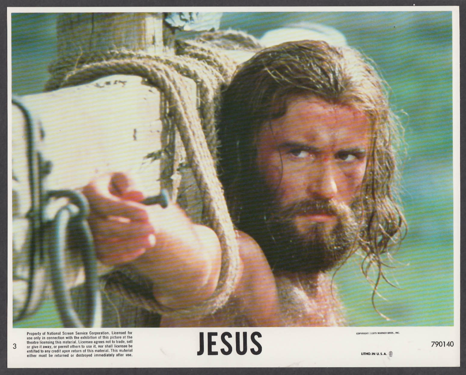 Image for Brian Deacon as Jesus 8x10 lobby card 1979 #8