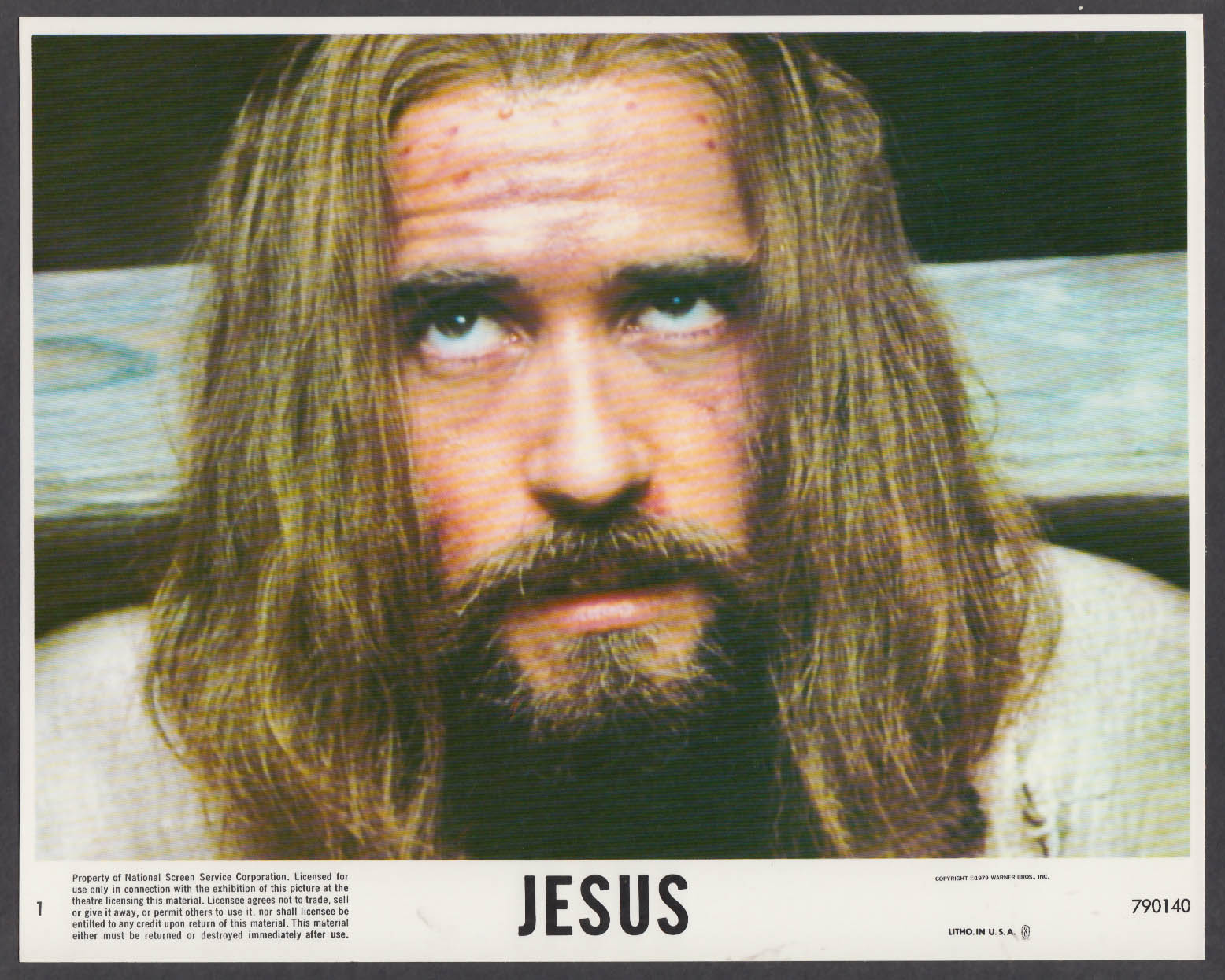 Image for Brian Deacon as Jesus 8x10 lobby card 1979 #7