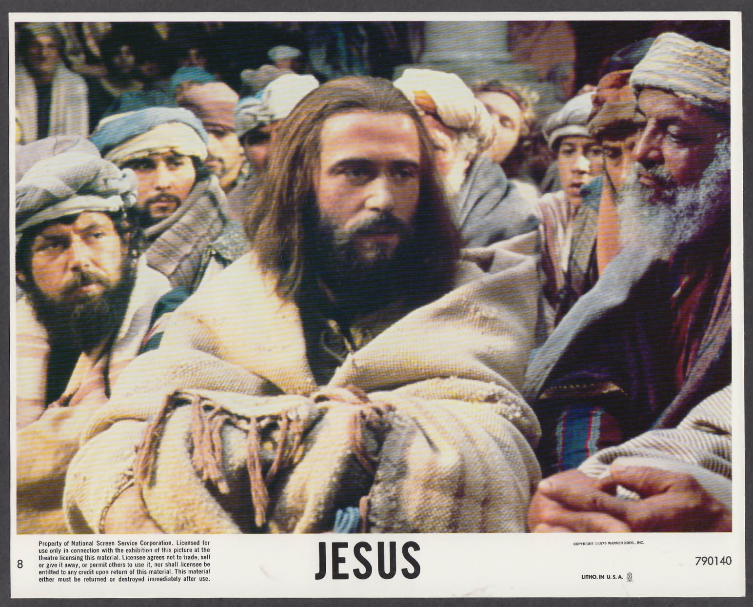 Image for Brian Deacon as Jesus 8x10 lobby card 1979 #6