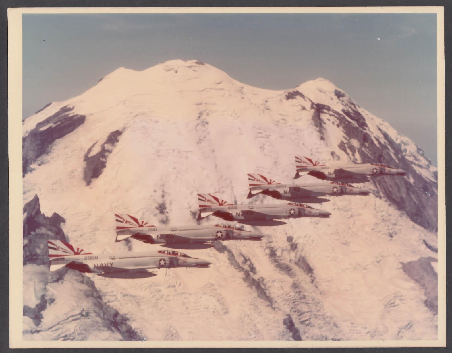 Image for US Navy F-4 Phantom Sundowners squadron 8x10 photo