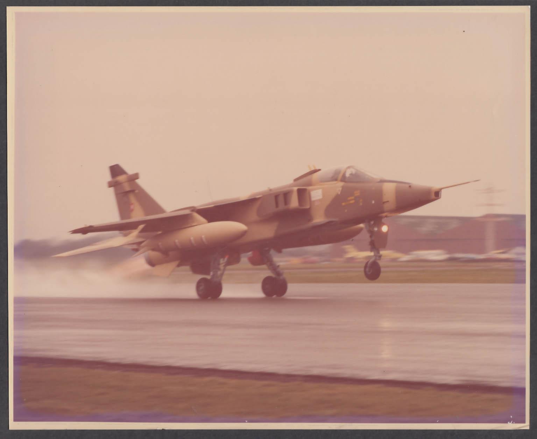 Image for Omar Air Force Jaguar International 8x10 photo 1977