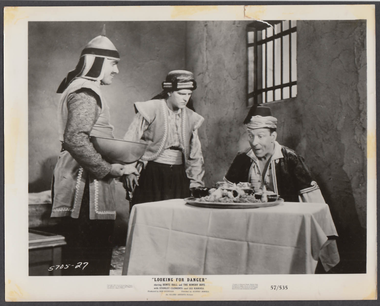 Image for Stanley Clements Huntz Hall at Looking For Danger 8x10 publicity photo 1957