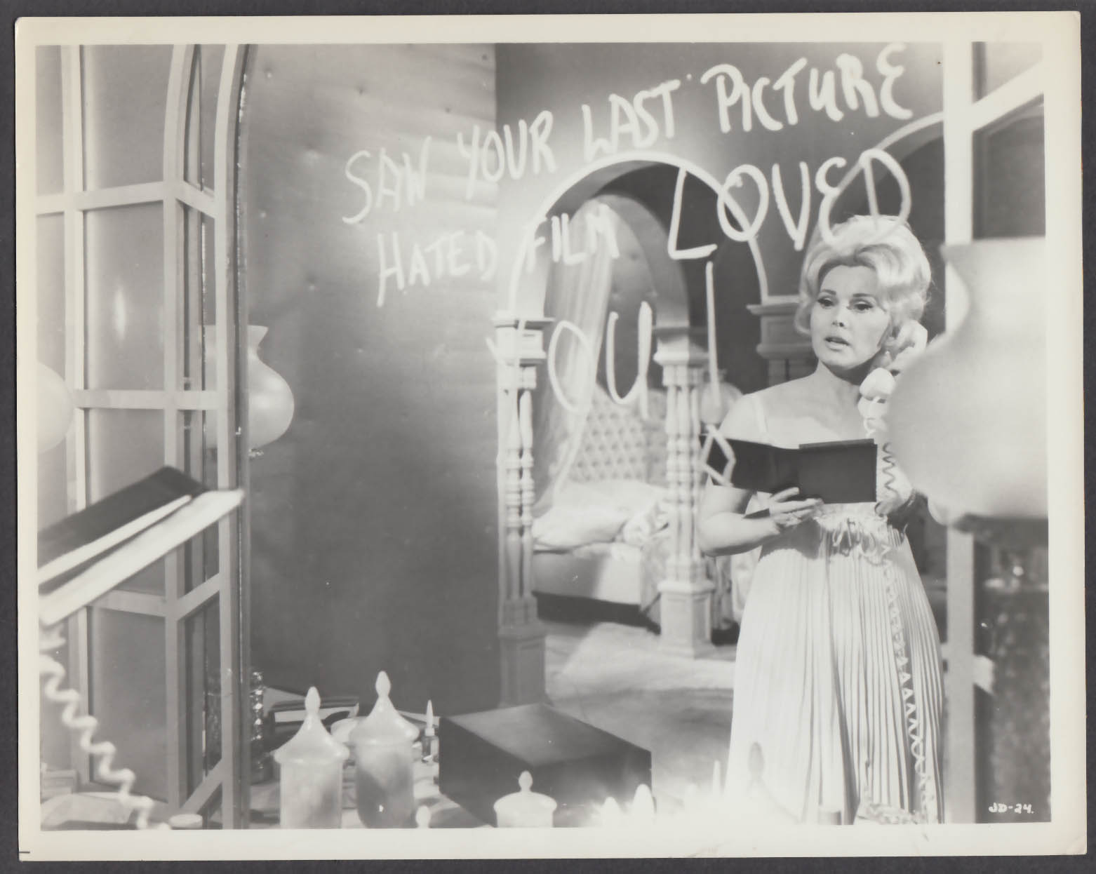 Image for Zsa Zsa Gabor in Jack of Diamonds 8x10 publicity photo 1967