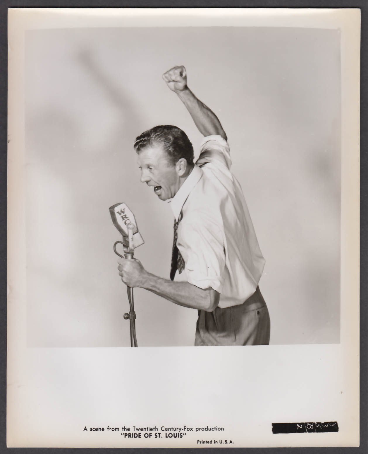 Image for Dan Dailey in Pride of St Louis 8x10 publicity photo 1952