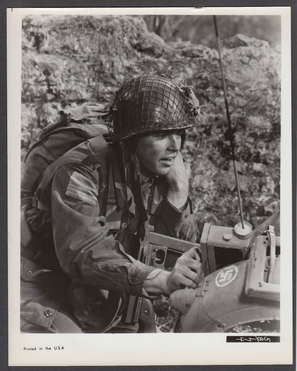 Image for Richard Beymer in The Longest Day 8x10 publicity photo 1962