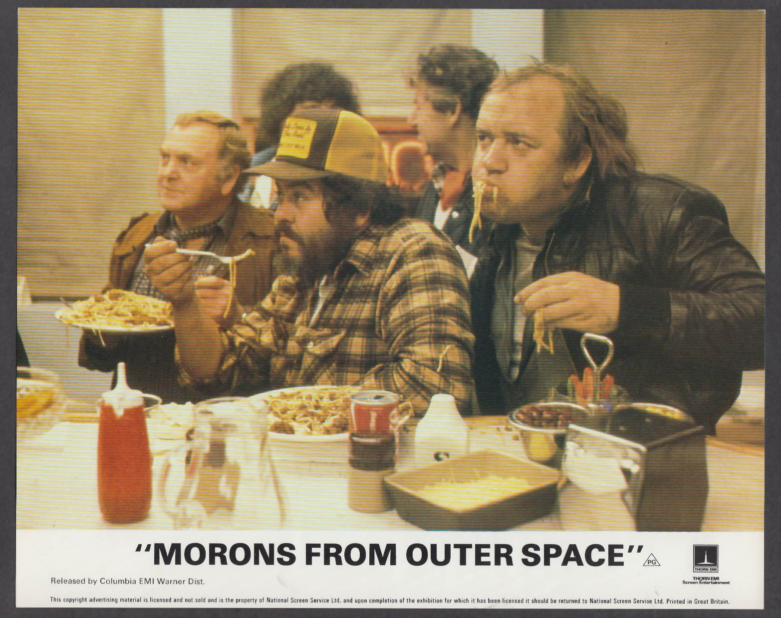 Morons from Outer Space 8x10 lobby card 1985 Mel Smith