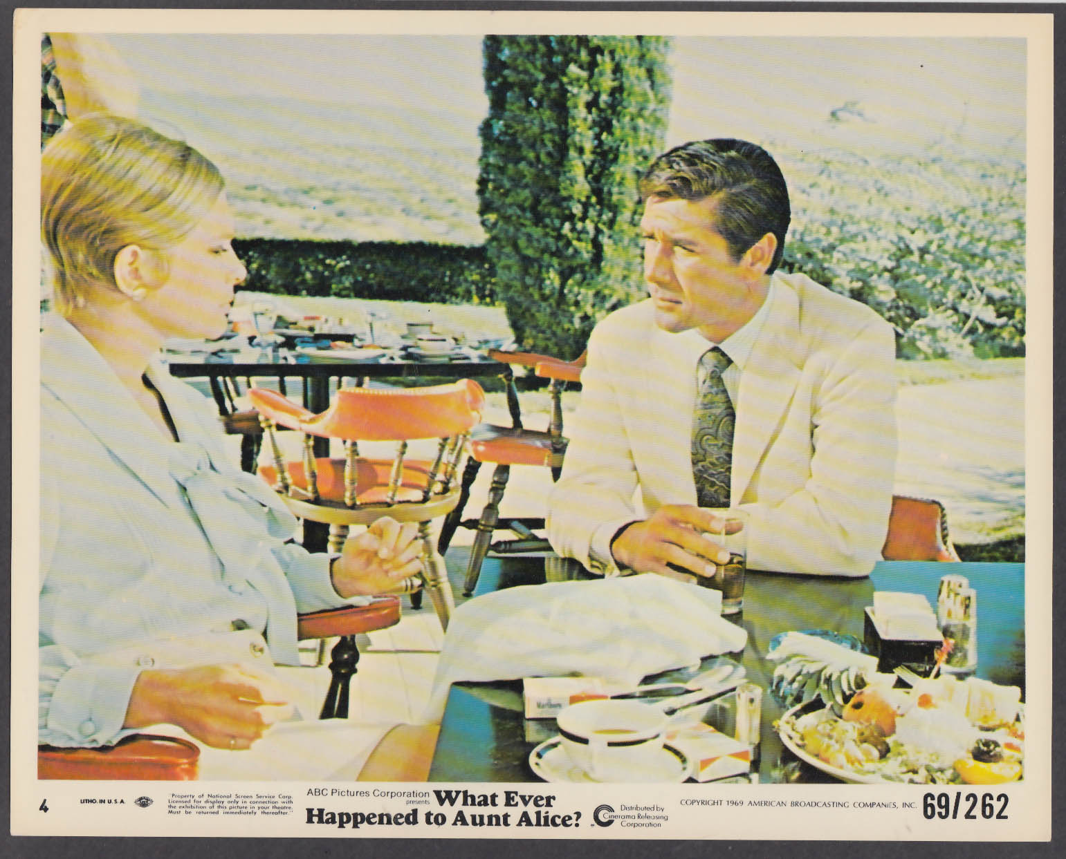 What Ever Happened to Aunt Alice? 8x10 lobby card 1969 Robert Fuller