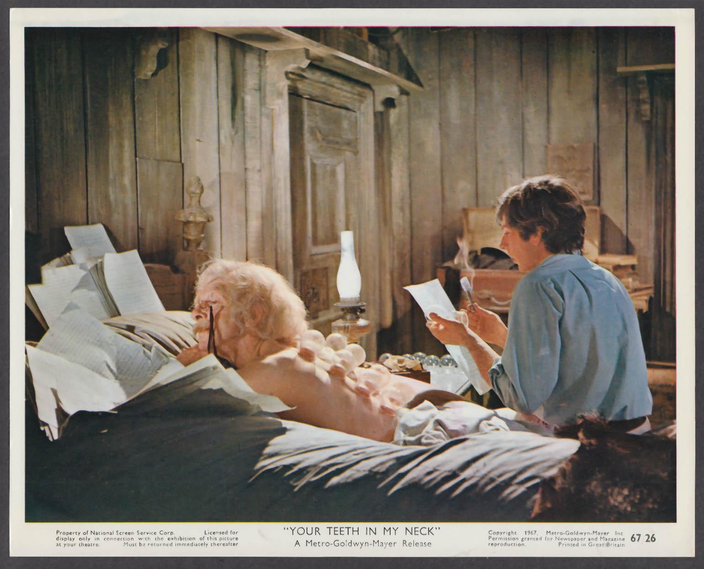 The Fearless Vampire Killers 8x10 lobby card 1967 Jack MacGowran Roman Polanski