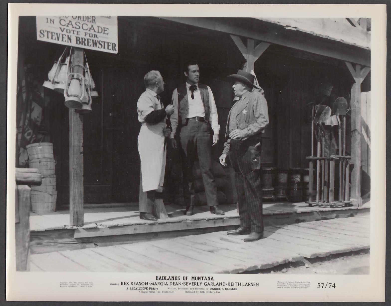 Badlands of Montana 8x10 publicity photo 1957 Rex Reason