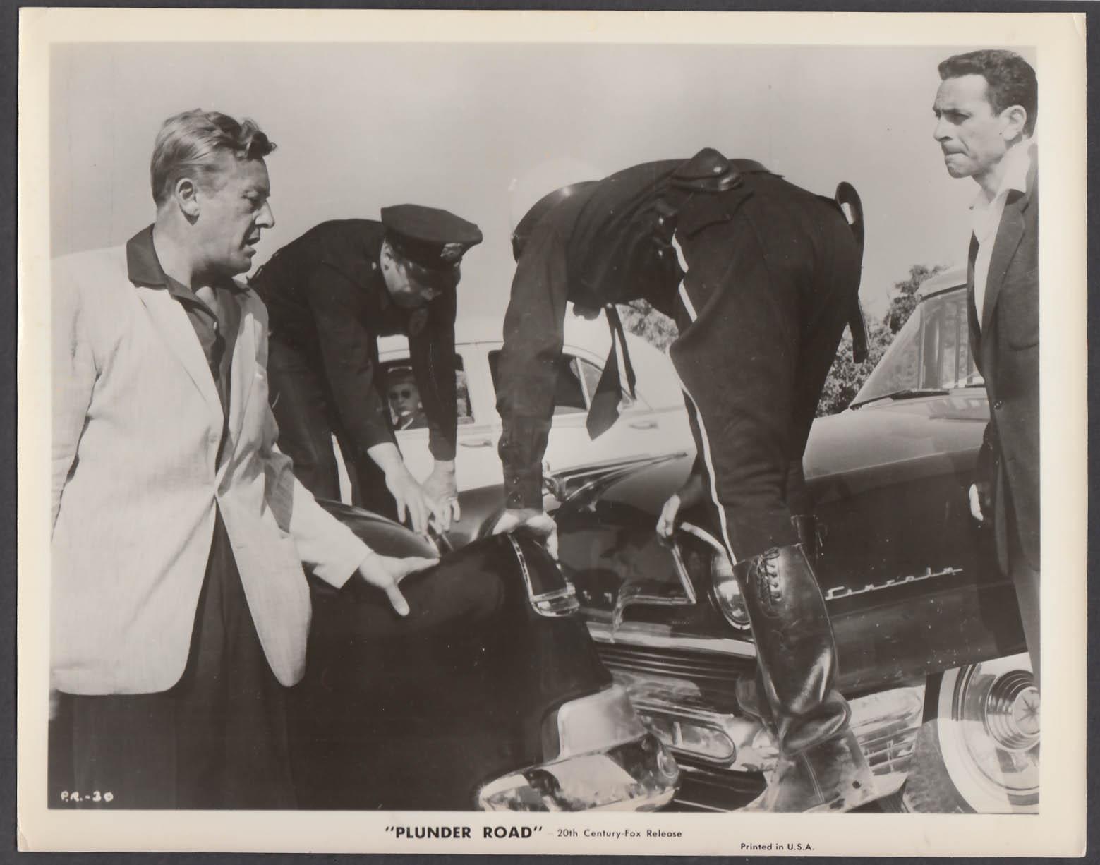 Image for Plunder Road 8x10 publicity photo 1957 Wayne Morris Gene Raymond