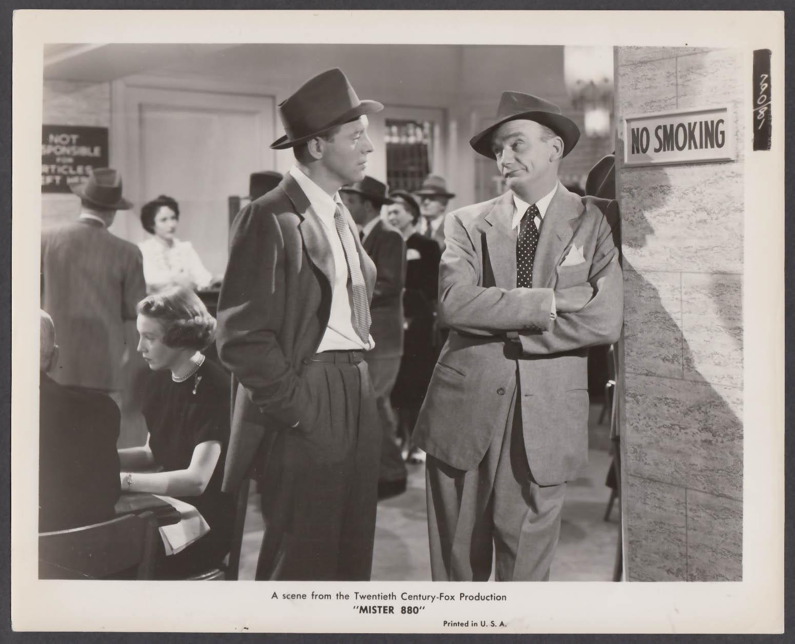 Burt Lancaster Millard Mitchell in Mister 880 8x10 publicity photo 1950