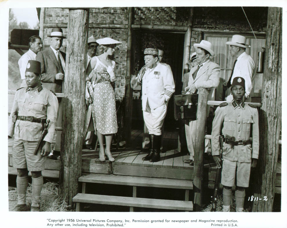 Virginia Mayo Peter Lorre in Congo Crossing 8x10 1956