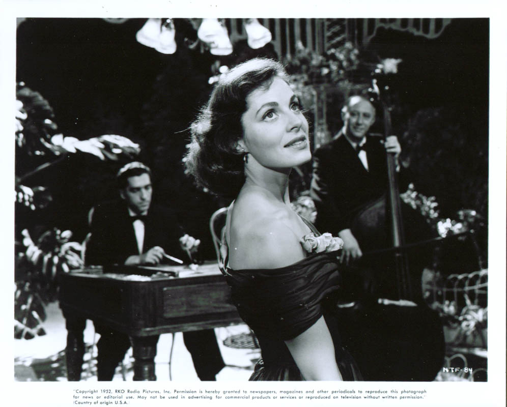 Viveca Lindfors in No Time for Flowers 8x10 1952