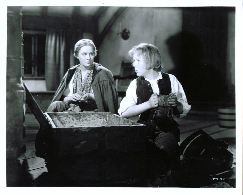 Dorothy Peterson Jackie Cooper Treasure Island 8x10 1934