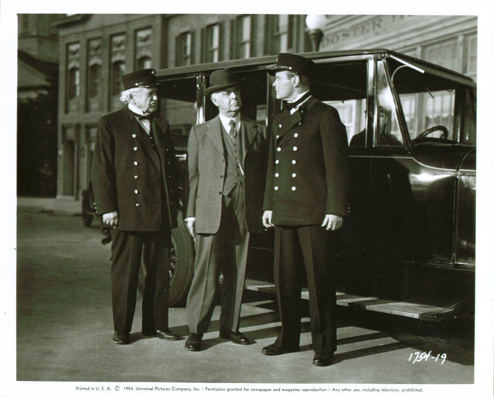 George Cleveland Fireman Save My Child 8x10 1954