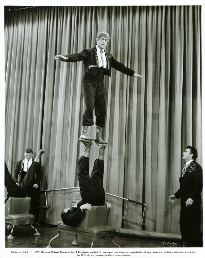 Red Skelton acrobat act Public Pigeon No. 1 8x10 1957