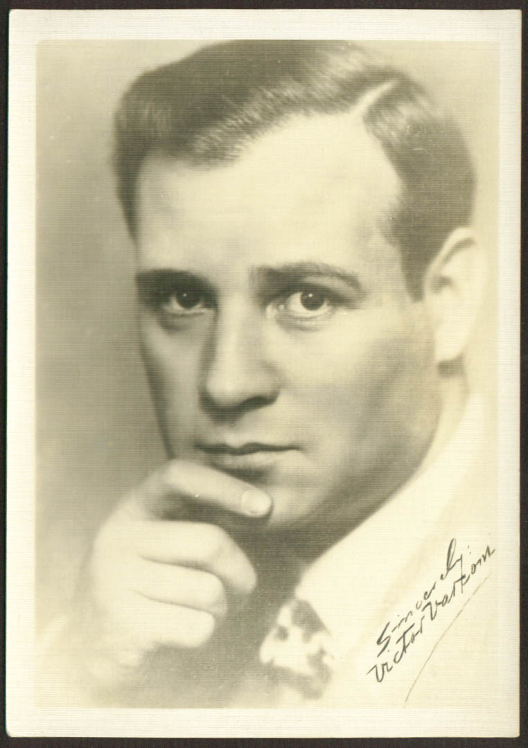 Victor Varconi film actor 1930s 5x7 1891-1976