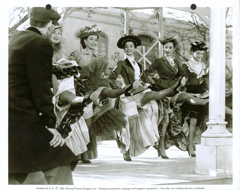 Dancing girls Abbott & Costello Meet Dr Jekyll & Mr Hyde 8x10 1953 #6