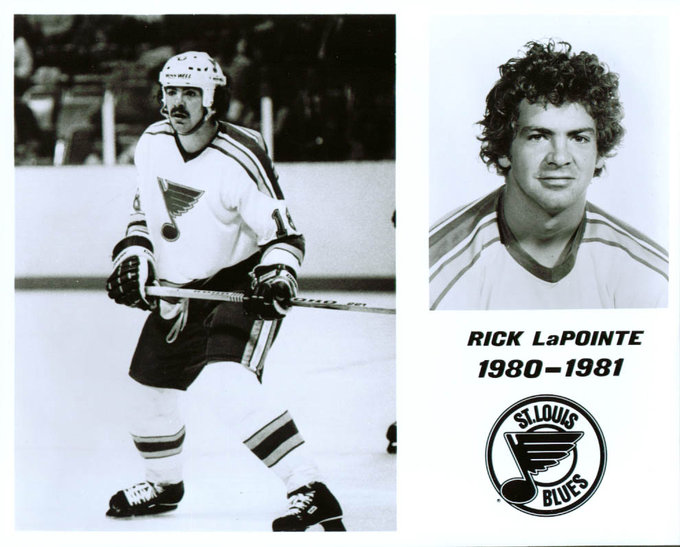 Image for Rick LaPointe St Louis Blues 8x10 1980-1981