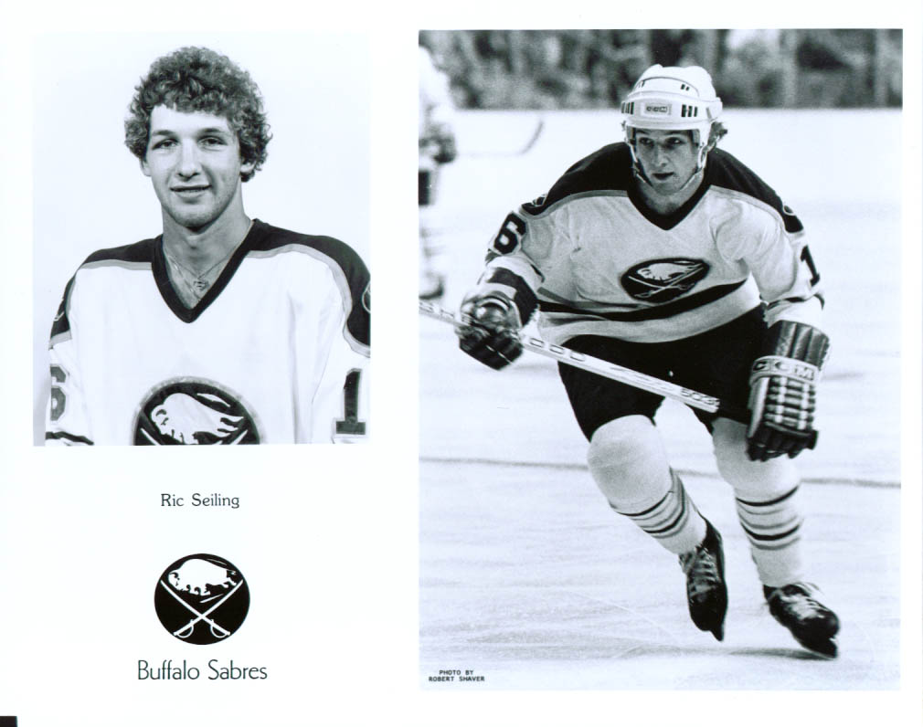 Ric Seiling Buffalo Sabres 8x10 1979-1980
