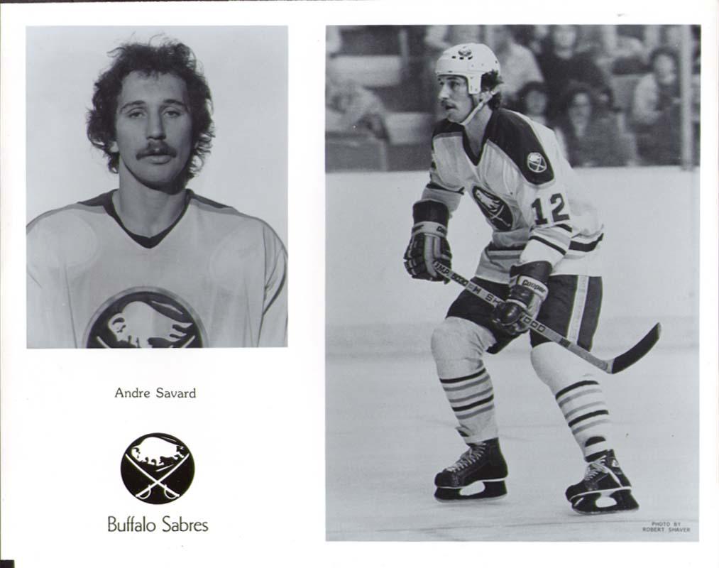 Andre Savard Buffalo Sabres 8x10 1981-1982