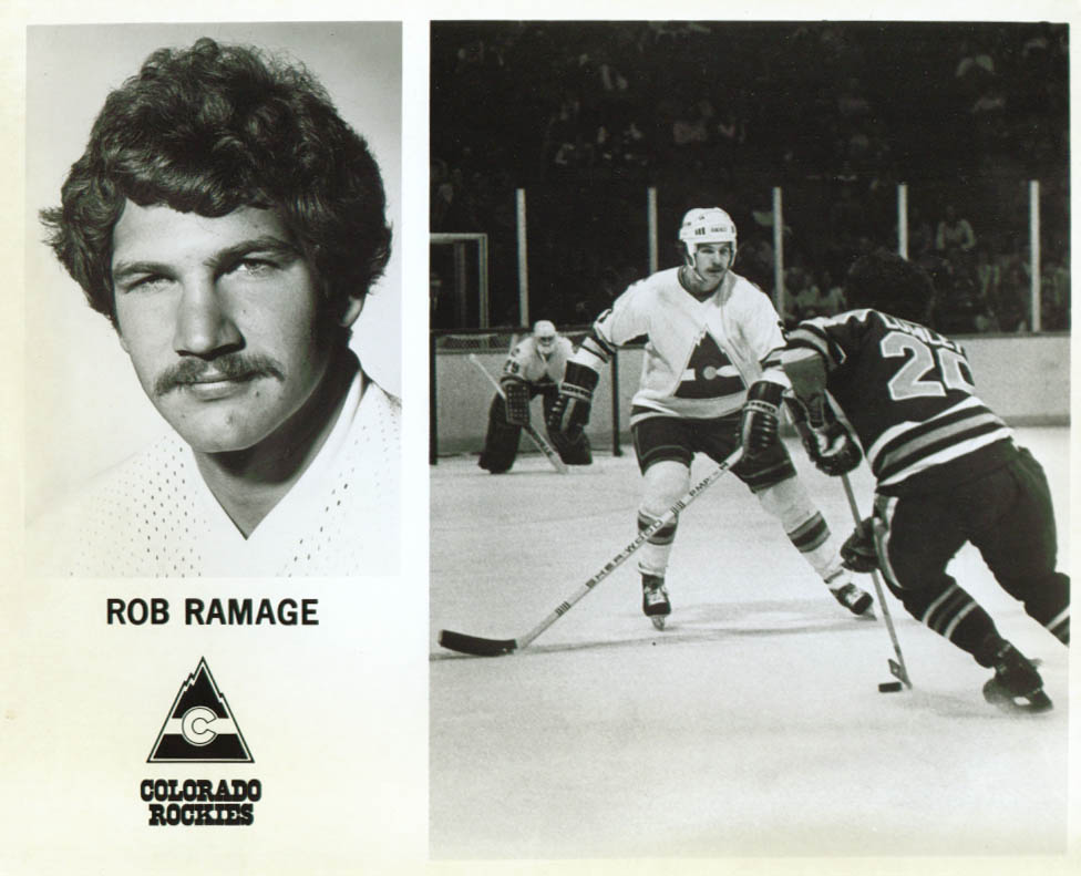Rob Ramage Colorado Rockies 8x10 1979-1980